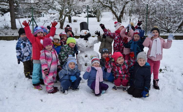Hry se sněhem – 2.třída